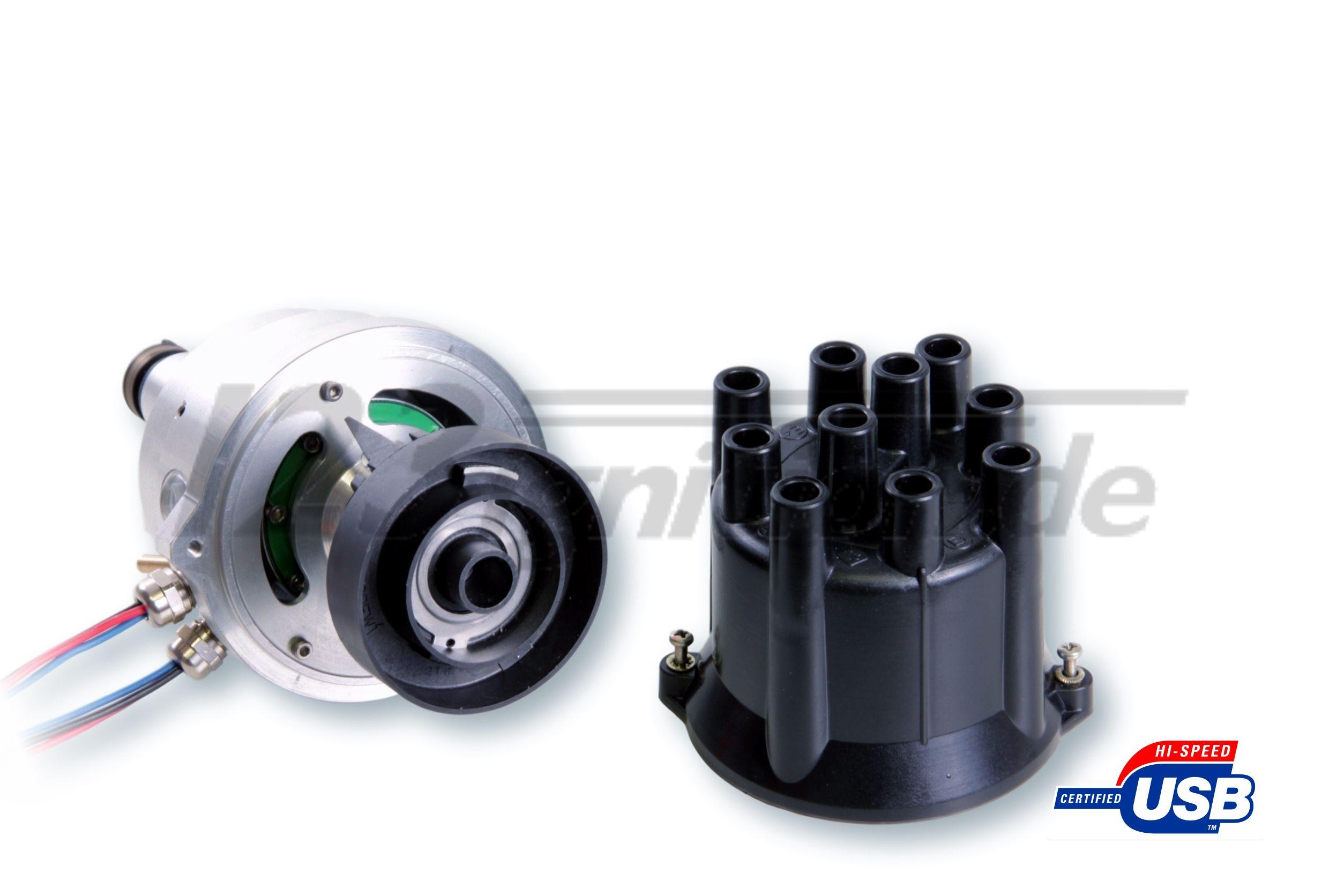 123\TUNE USB Zündverteiler für Alfa Romeo Giulia Nuova Spider Bertone Duetto offene Verteilerkappe