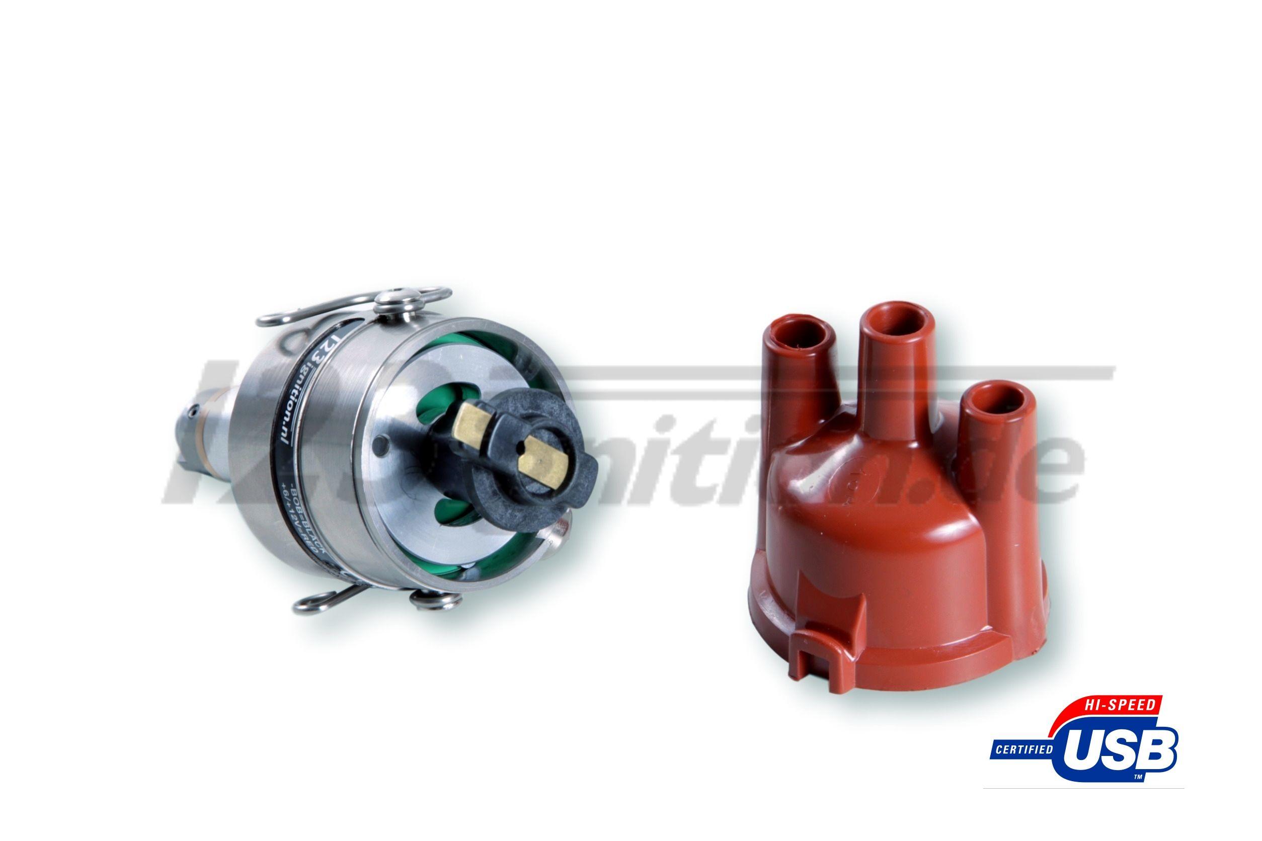 Dystrybutor zapłonu 123\TUNE USB dla Panhard PL 24 Dyna Z otwarty kołpak dystrybutora