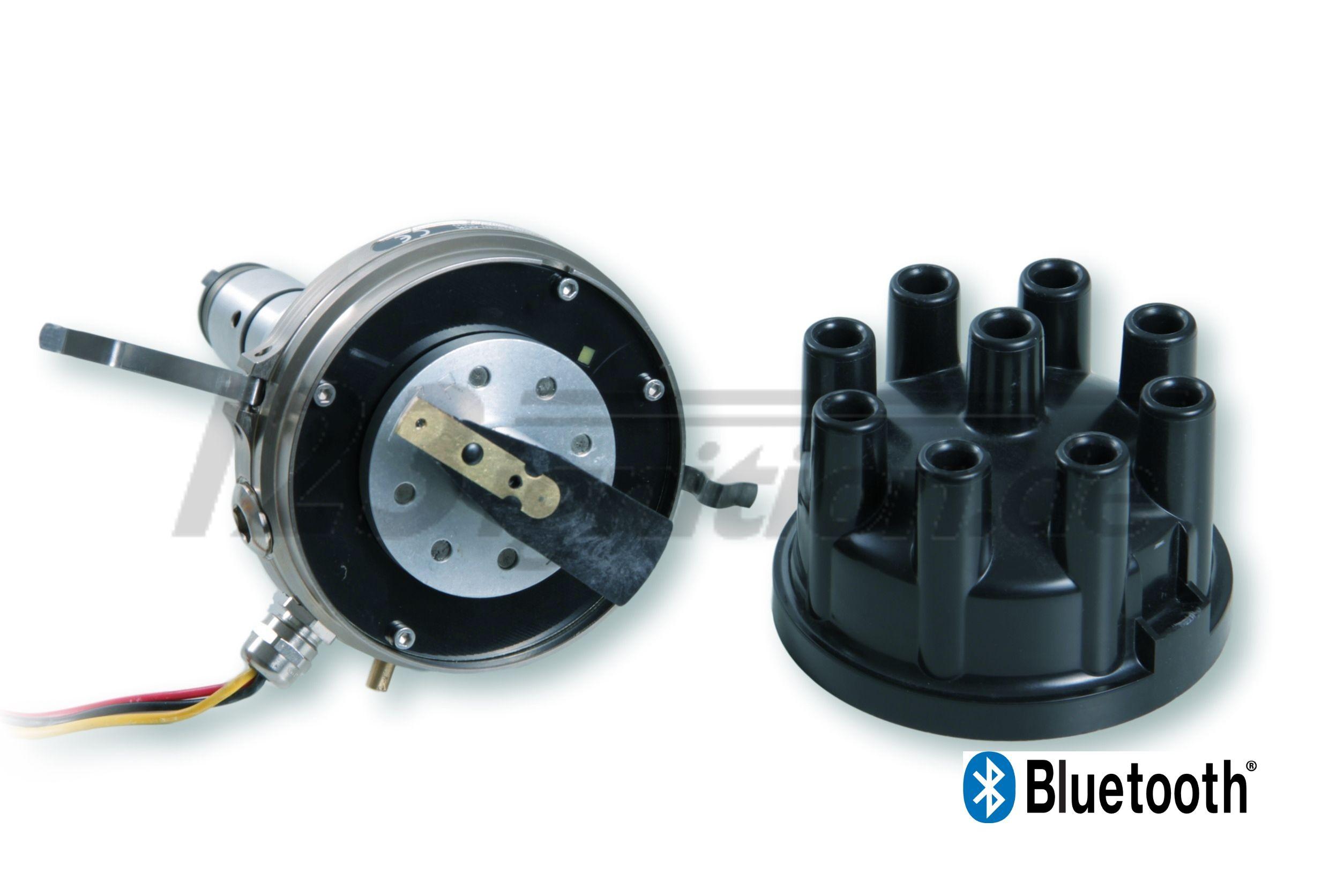 Rozdelovač zapalovanie 123\TUNE+ Bluetooth pre Mercedes 600 W100 otvorený uzáver distribútora