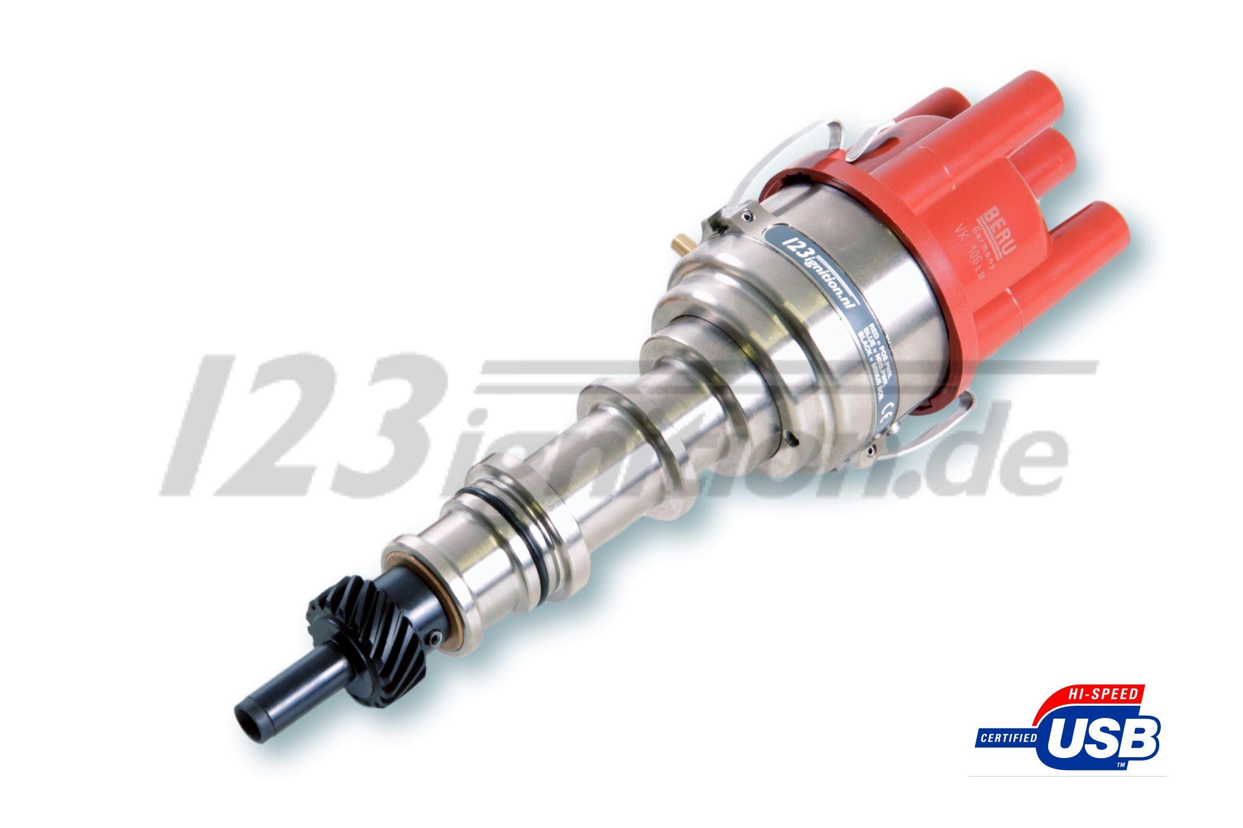 123\TUNE USB tenningsdistributør varten Saab 95 96
