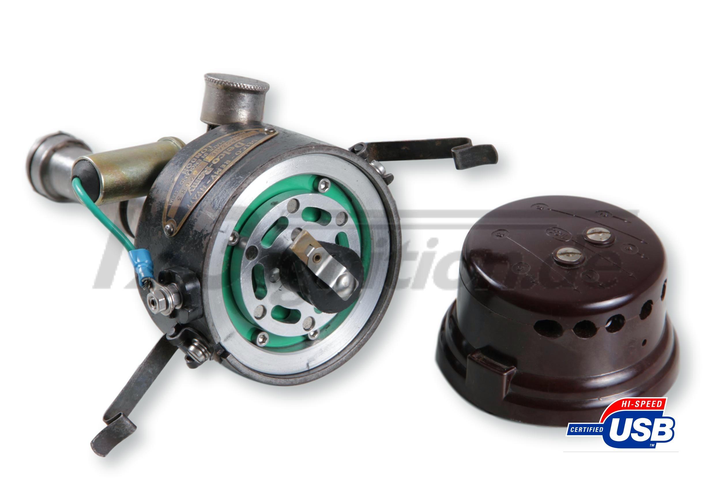 123\TUNE USB tändfördelare för Bentley Mk VI öppen distributörskåpa
