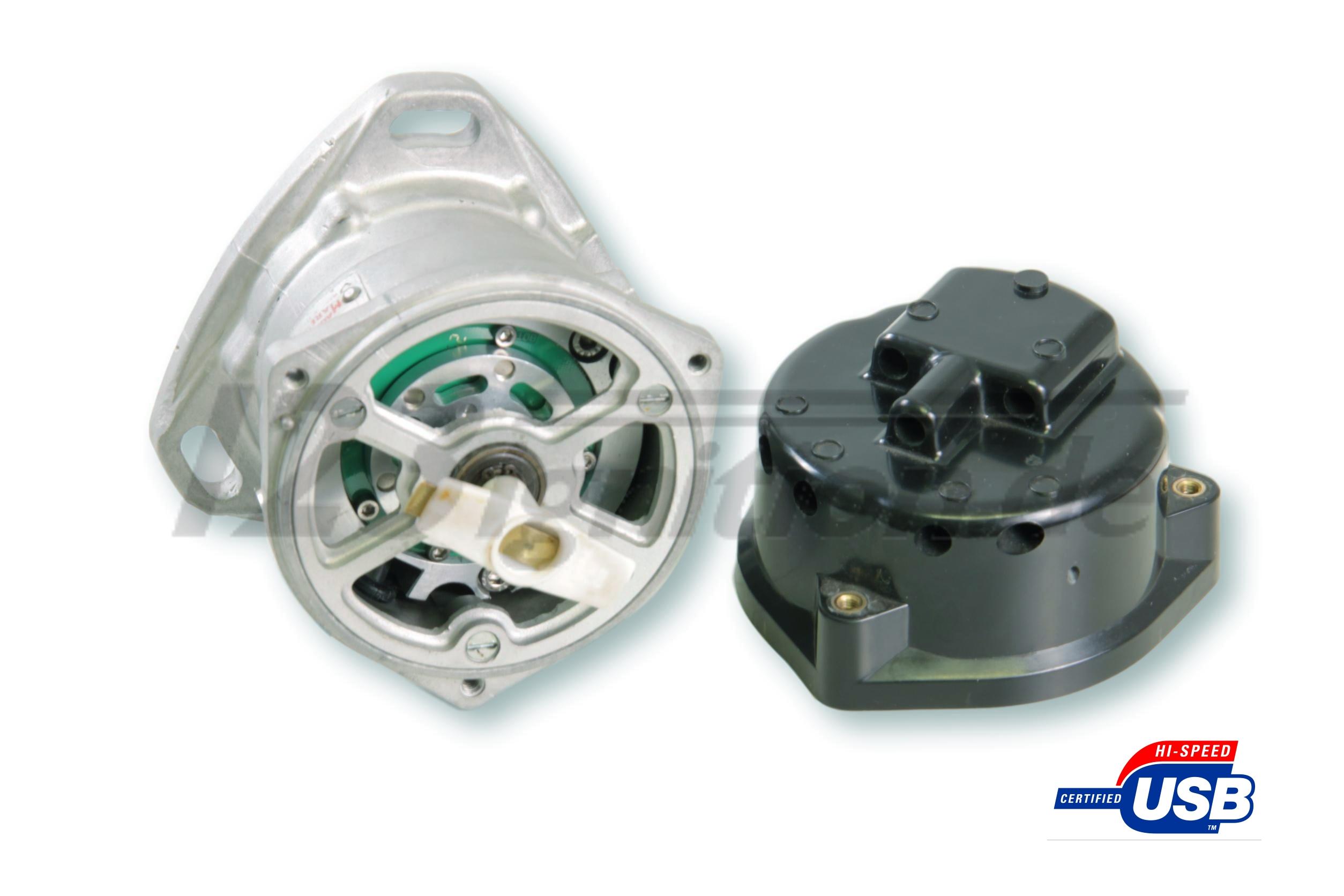 123\TUNE USB distributor for Ferrari 365 GT 2+2 open distributor cap